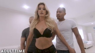 Be the Cuck – Blonde MILF India Summer in BBC Threesome